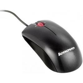 Мышь проводная Lenovo 41U3074 чёрный USB + PS/2