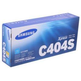 Картридж Samsung CLT-C404S для SL-C430 / C430W / C480 / C480W / C480FW. Голубой 1000 страниц.