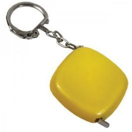 Брелок-рулетка, пластик Yellow