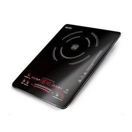 Плитка индукционная GINZZU HCI-161 черная, 2000Вт., сенсорное управление, 1 конфорка