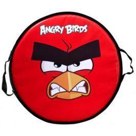 Ледянка 1toy Angry birds круглая до 100 кг ПВХ красный Т58162