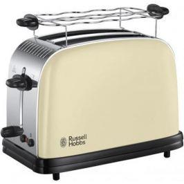 Тостер Russell Hobbs Colours Plus Cream 23334-56 серебристый бежевый чёрный