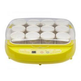 Йогуртница BRAND 4002 (цифровое управл. 12*200мл) желтая