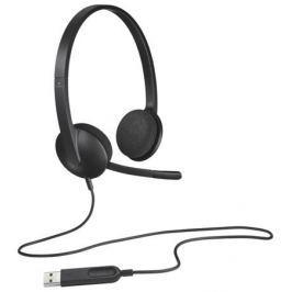 (981-000475) Гарнитура Logitech Headset H340 USB