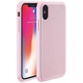 Чехол-накладка Just Mobile Quattro Air для iPhone X. Материал пластик. Цвет: розовый.