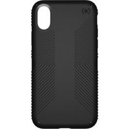 Чехол Speck Presidio Grip для iPhone X. Материал прорезиненный пластик. Цвет: черный.