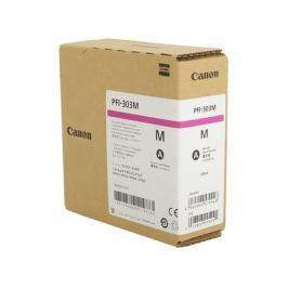 Картридж Canon PFI-303 M для плоттера iPF815/825. Пурпурный. 330 мл.