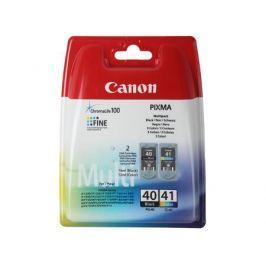 Картридж Canon PG-40/CL-41 для PIXMA MP450/MP170/MP150/iP2200/iP1600/iP6220D/iP6210D/iP22. Чёрный и цветной. 330/310 страниц.