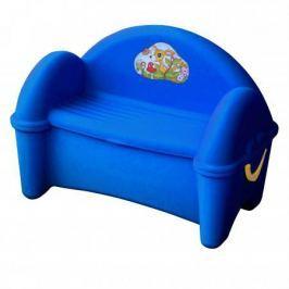 Диван - ящик (синий)