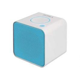 Портативная колонкаSupra BTS-628, White/Blue (3 Вт, 20 - 20 000 Гц, Bluetooth, mini Jack, microSD, батарея)