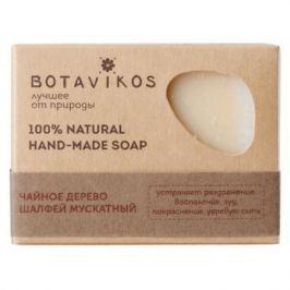 Botavikos Натуральное мыло ручной работы Чайное дерево, шалфей мускатный 100 гр