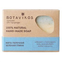 Botavikos Натуральное мыло ручной работы Мята перечная, зеленая глина 100 гр