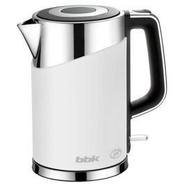 Чайник BBK EK1750P, 2200Вт, 1.7л, белый