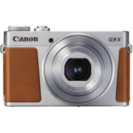 Фотоаппарат Canon PowerShot G9 X Mark II 20.1Mp 3xZoom серебристый 1718C002