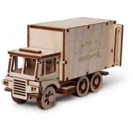 Деревянный конструктор LEMMO грузовик Чип 51 элемент 0065