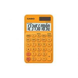 Калькулятор карманный CASIO SL-310UC-RG-S-EC 10-разрядный оранжевый
