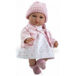 Arias ELEGANCE мягк кукла 28 см., со звук. эфф. Гуление (3хLR44/AG13), в одежде, роз цвет., в кор. 2