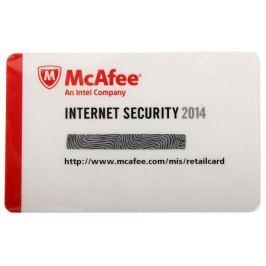 Программное обеспечение McAfee Internet Security OEM 2014 - Card - 1USER (MIS149EC1RAO)