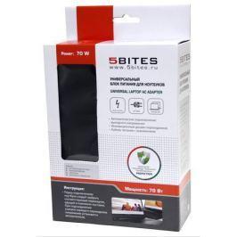 Адаптер питания 5bites PA70AD-04 70W для ноутбуков ACER/DELL (M5, M7, M9, M15, M21, M23)