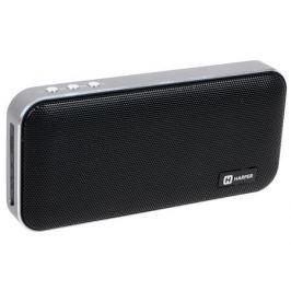 Портативная колонка HARPER PSPB-200 Black Беспроводная акустика / 2 x 5 Вт / 180 - 18000 Гц / Bluetooth 4.2 / microSD
