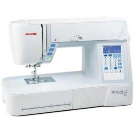 Швейная машинка Janome Skyline S3 белый