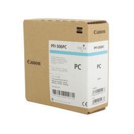 Картридж Canon PFI-306 PC для плоттера iPF8400S/8400/9400S/9400. Фото голубой. 330 мл.