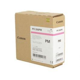 Картридж Canon PFI-306 PM для плоттера iPF8400S/8400/9400S/9400. Фото пурпурный. 330 мл.