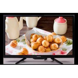 Телевизор Harper 28R660T LED 28'' Black, 16:9, 1366x768, 60000:1, 210 кд/м2, USB, AV, 3xHDMI, DVB-T, T2, C