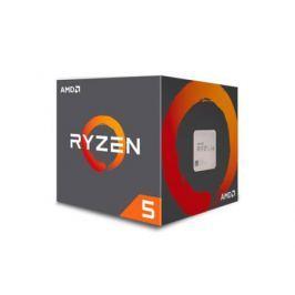 Процессор AMD Ryzen 5 2600 BOX (65W, 6C/16T, 3.9Gh(Max), 19MB(L2+L3), AM4) (YD2600BBAFBOX)