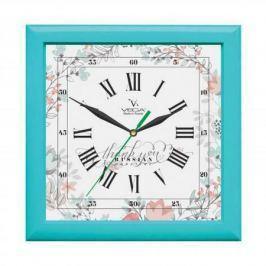 Часы настенные Вега П 3-16-127 Бирюза