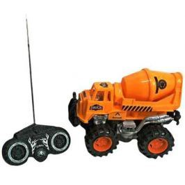 Бетономешалка на радиоуправлении Shantou Gepai Бетономешалка 635567 оранжевый от 3 лет пластик