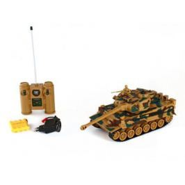 Танк на радиоуправлении Пламенный Мотор Tiger (Германия) 1:28 камуфляж от 4 лет пластик 87553