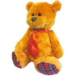 Мягкая игрушка медведь Волшебный мир Мишка Лапочка 45 см рыжий искусственный мех текстиль 7С-1413-Р