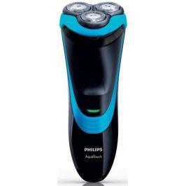 Бритва Philips AT750/26 чёрный синий