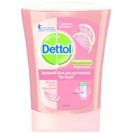DETTOL Антибакт.жидк. мыло для рук с ароматом Грейпфрута запасной блок для диспенсера No Touch 250 м