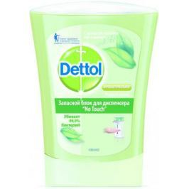 DETTOL Антибакт.жидк. мыло для рук с ароматом Зеленого чая и имбиря запасной блок для диспенсера No