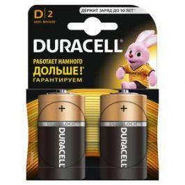 Батарейки DURACELL LR20-2BL (20/60/3840) Блистер 2 шт