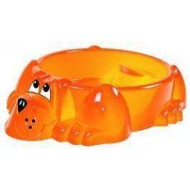 Песочница-бассейн - Собачка (оранжевый)