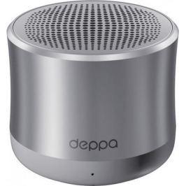 Портативная акустикаDeppa Speaker Alum Solo графит 42004