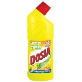 DOSIA Гель Чистящий для сантехники с дезинфицирующим и отбеливающим эффектом Лимон 750мл