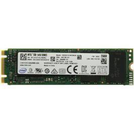 Твердотельный накопитель SSD M.2 256Gb Intel 545s Series Read 550Mb/s Write 500Mb/s SATAIII SSDSCKKW