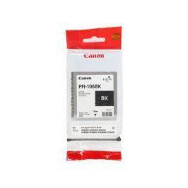Картридж Canon PFI-106 BK для плоттера iPF6400/6400S/6400SE/6450. Чёрный. 130 мл.