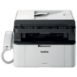 МФУ лазерное Brother MFC-1815R принтер/сканер/копир/факс(+трубка), A4, 20стр/мин, ADF, USB