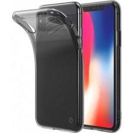 Чехол LAB.C Slim Soft LABC-197-BK для iPhone X пластик прозрачный черный