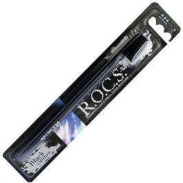 РОКС Зубная щетка Black Edition Classic средняя