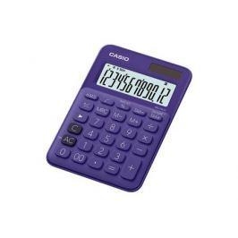 Калькулятор настольный CASIO MS-20UC-PL-S-EC 12-разрядный фиолетовый