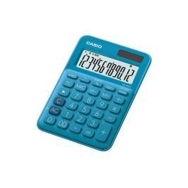 Калькулятор настольный CASIO MS-20UC-BU-S-EC 12-разрядный синий