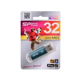 USB флешка Silicon Power Marvel M01 Blue 32GB (SP032GBUF3M01V1B)