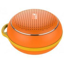 Портативная колонка Genius SP-906BT, Orange (3 Вт, 100 - 20 000 Гц, Bluetooth, USB, батарея)