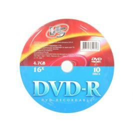 DVD-R VS 4.7Gb 16x 10шт Shrink